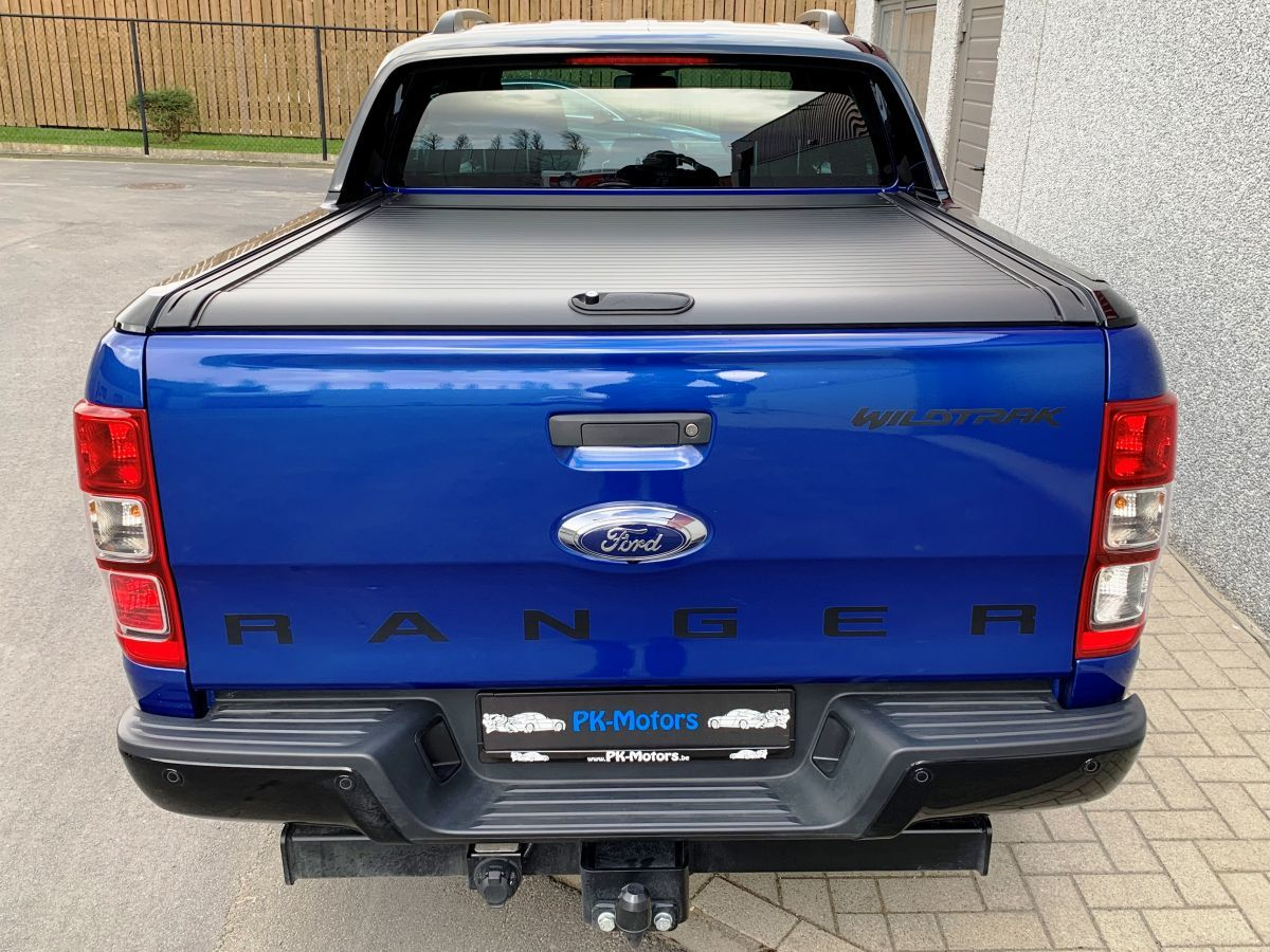 PK Motors Ford RANGER WILDTRAK X BLEU EDITION RAPTOR Look!!! AUTOMAAT, FULL OPTIONS