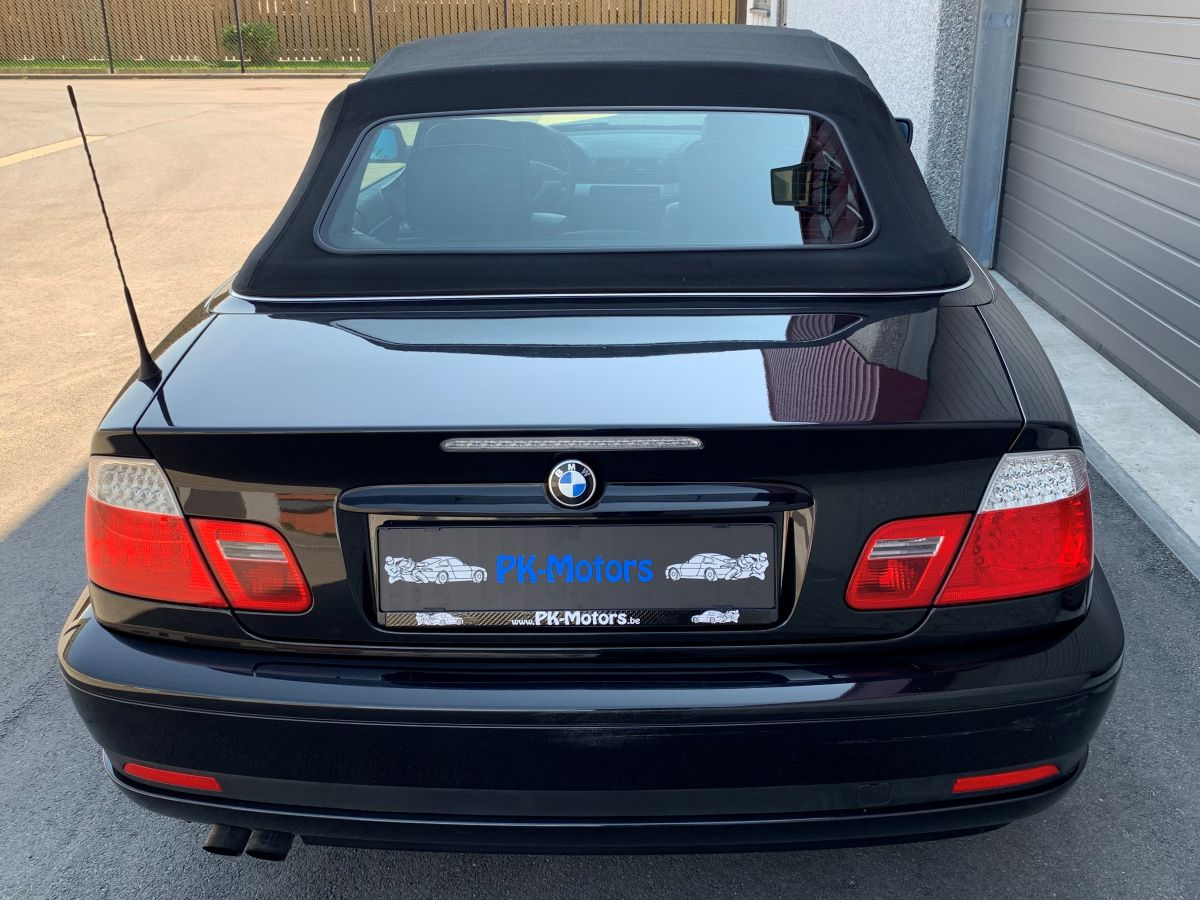 PK Motors BMW 320 Ci Cabrio Full Options